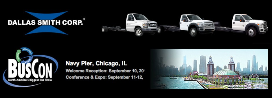 Dallas Smith Corp attends buscon show 2012