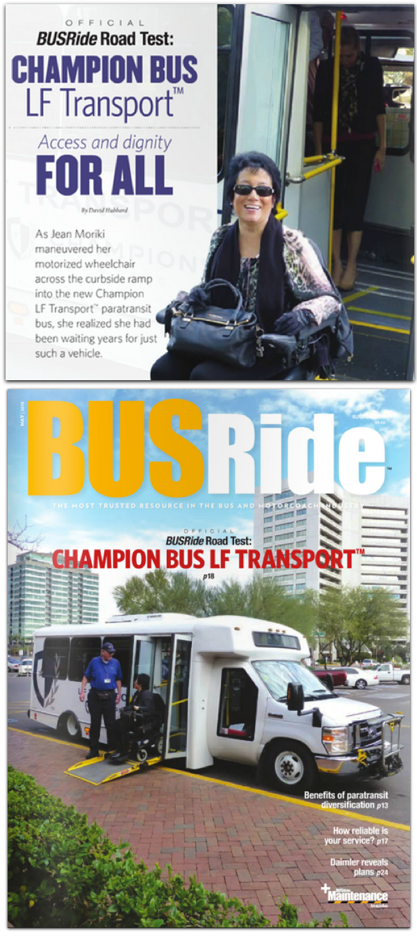 busride - champion bus lf transport